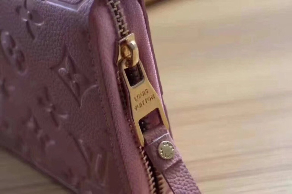 ... Кошелек Луи Витон, Louis Vuitton monogram, кожа, цвет розовый, ... aee76bff244