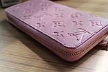 Гаманець Луї Вітон, Louis Vuitton monogram, шкіра, колір рожевий, фото 5
