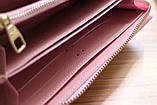 Гаманець Луї Вітон, Louis Vuitton monogram, шкіра, колір рожевий, фото 6