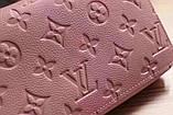 Гаманець Луї Вітон, Louis Vuitton monogram, шкіра, колір рожевий, фото 7
