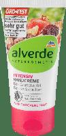 Органический интенсивный крем для рук alverde NATURKOSMETIK Intensiv Dio-Granatapfel & Karitébutter, 75 ml, фото 1