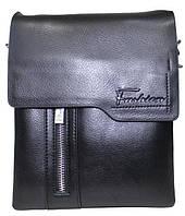 60eb1b3f4024 Сумка Fashion 18-88823-2 мужская черная модная из искусственной кожи с  ремнем на