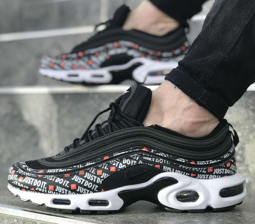 best sneakers c71e5 aae28 Nike Air Max 97 Tn Black White