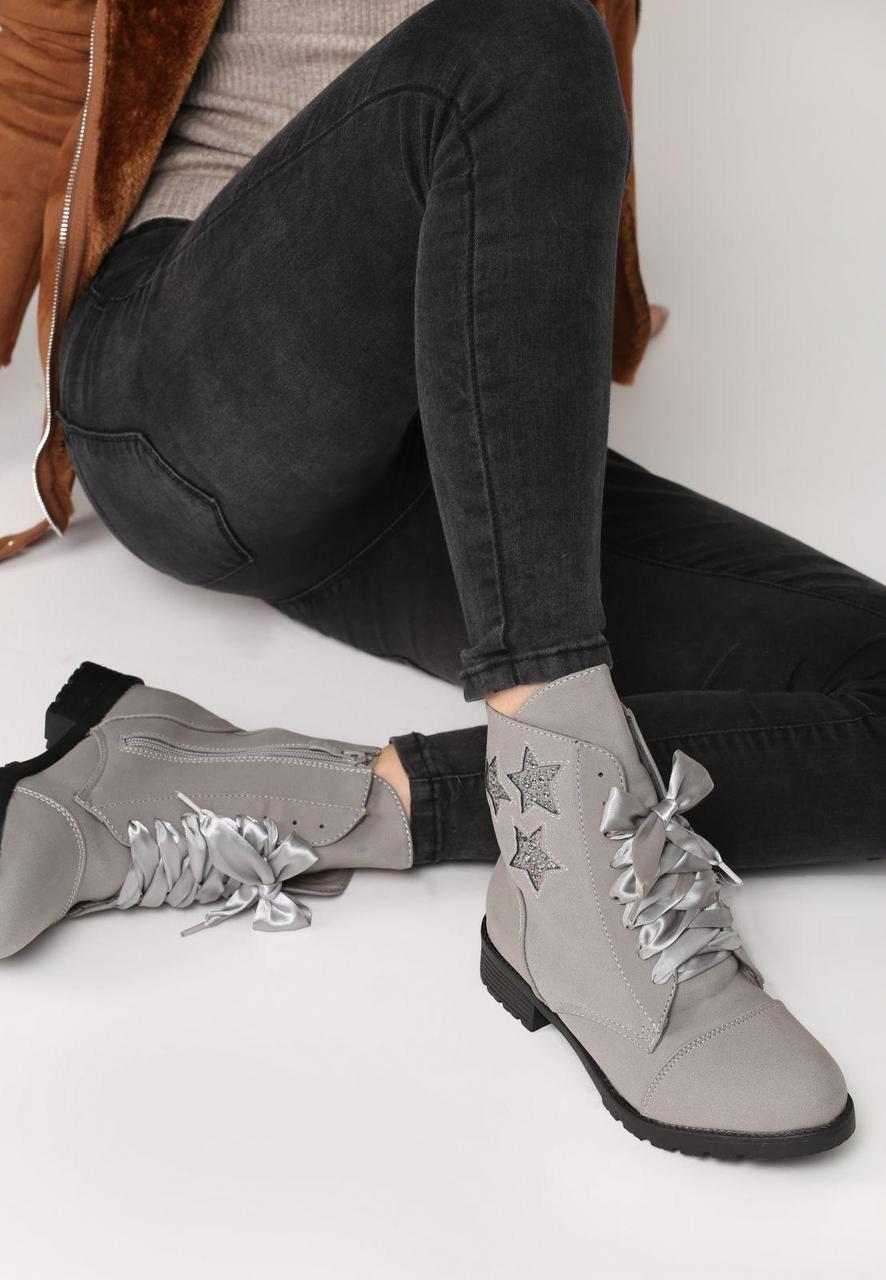 Vices Серые Ботинки ( Польша) Женская Обувь 36 Размер — в Категории ... ffb8c69f22c