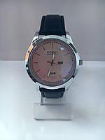 Мужские наручные часы Gucci (Гуччи), серебристо-белый цвет