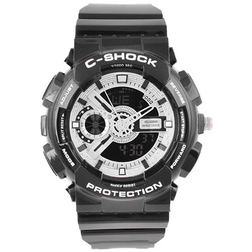 Часы наручные C-SHOCK GA-110 Black-Silver, Box