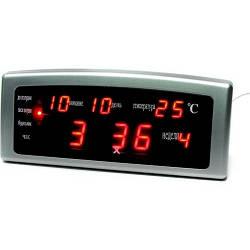 Часы CAIXING CX-868 с будильником, сетевые часы, часы календарь радио