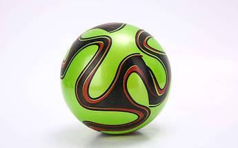 Мяч резиновый EURO 2016 (резина, вес-60г, р-р 16-25см (6-10in), бел., син., кр., фиол.,зел.)