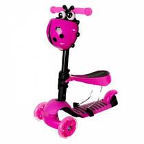 AL Toys Самокат Al Toys 2 в 1 Pink (5390)