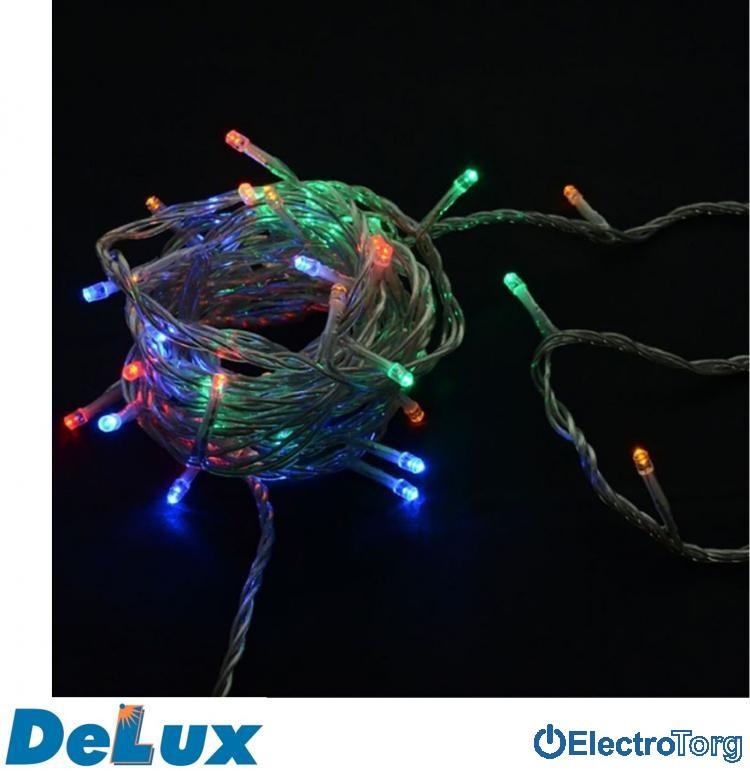 Гирлянда внутренняя STRING C 100LED IP20 DELUX (Делюкс)