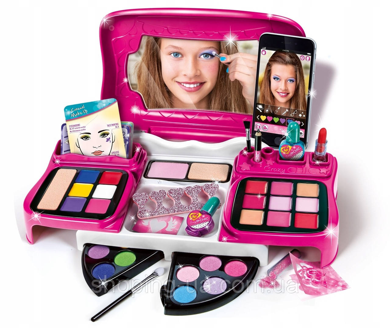 Детская косметика Crazy Chic Clementoni 78293