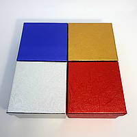 Картонная коробочка для ювелирных украшений
