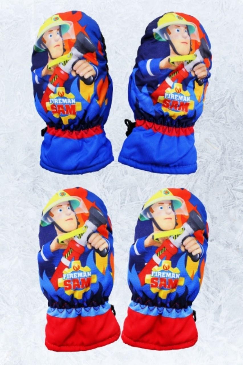 Варежки балоневые Disney для мальчиков, размеры 3/4,5/6 лет, арт.800-442