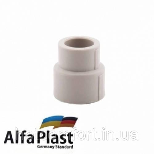 Муфта редукционная 25*20 Alpha Plast