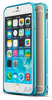 Чехол Mooke Metal Bumper Apple iPhone 6 Plus, iPhone 6S Plus Blue