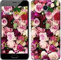 """Чехол на Meizu M5 Note Розы и пионы """"2875c-447-12392"""""""