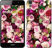 """Чехол на Huawei Y6 Розы и пионы """"2875c-333-12392"""""""