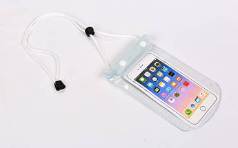 Чехол-кошелек на шею водонепроницаемый (полиэстер, на шею, цвета в ассортименте)