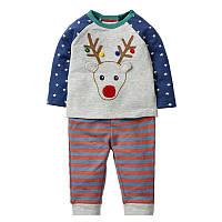 Костюм детский Рождественский олень Jumping Meters