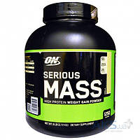 Гейнер Optimum Nutrition Serious Mass 2700g клубника