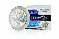 Вставка фары Alpha LED d-140mm (круглая, 6 диодов) MKT