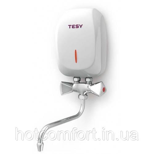 Проточний водонагрівач TESY 3,5 кВт зі змішувачем (IWH 35 X02 KI)