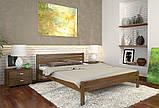 Кровать дерево Роял односпальная 90 (Арбор) , фото 3