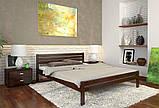 Кровать дерево Роял односпальная 90 (Арбор) , фото 4