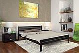 Кровать дерево Роял односпальная 90 (Арбор) , фото 5