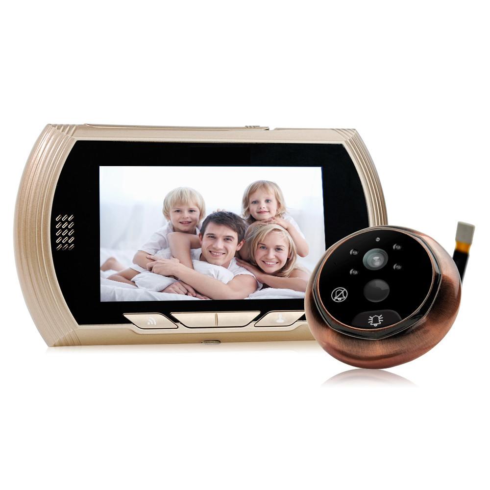 "WiFi Видеоглазок с датчиком движения Home Light F6 4,3"" HD"