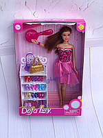 Кукла с коллекцией обуви