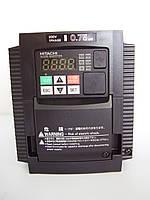 WJ200-007SF; 0,75кВт/220В. Частотный преобразователь Hitachi, фото 1