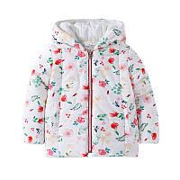 Куртка для девочки Цветы Jumping Beans