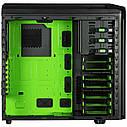 "Корпус Sharkoon VG5-W Green ATX ""Over-Stock"" Б/У, фото 2"