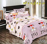 Полуторное постельное белье Тет-А-Тет 714