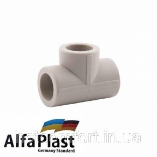 Тройник 25 Alpha Plast