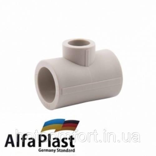 Тройник редукционный 25*20*25 Alpha Plast