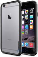 Чехол SGP NEO Hybrid EX Apple iPhone 6, iPhone 6S Black Grey