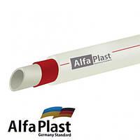 Труба поліпропіленова Alpha Plast Fiber (Ø 40 мм)