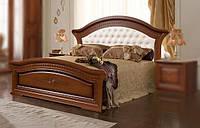 Кровать 1800х2000 с мягким изголовьем Венера СлонимМебель орех, белая, фото 1