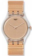 Женские часы Swatch Poudreuse S SUOK134B Оригинал