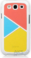 Чехол Zenus Skinny Leather case series Samsung I9300 Galaxy S3 Energetic Vivid
