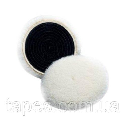 3М 01927 Perfect-It™ lll Шерстяной многоразовый полировальник для пасты №1 и №2, 132 мм