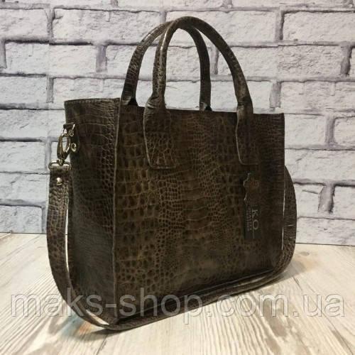 545de38f60b4 Женская элегантная кожаная сумка