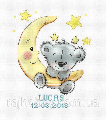 Luca-s Набор для вышивки Метрика Мальчик