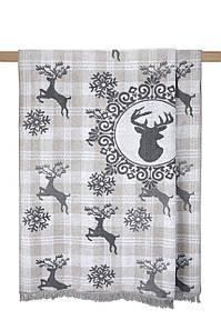 Плед 200х220 см Хлопок Deer Arya AR-TR1005196
