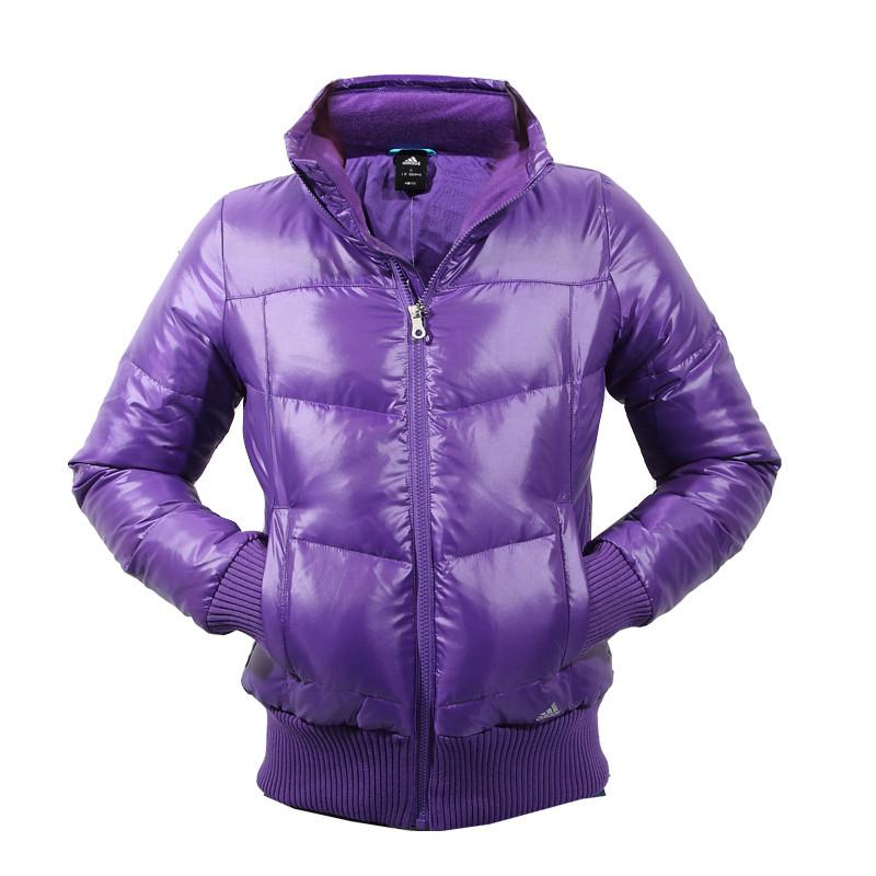 Пуховик куртка спортивная, женская Adidas J Down Bomber O05139 адидас