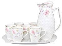 Чайный набор на подносе Lefard Лаура на 8 предметов 943-133