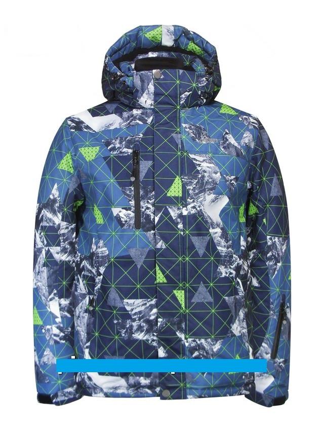 "Детская зимняя куртка для мальчика ""Disumer"" (мембрана)  705-1, 140размер"