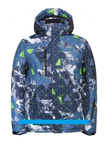 "Детская зимняя куртка для мальчика ""Disumer"" (мембрана)  705-1, 140размер, фото 2"